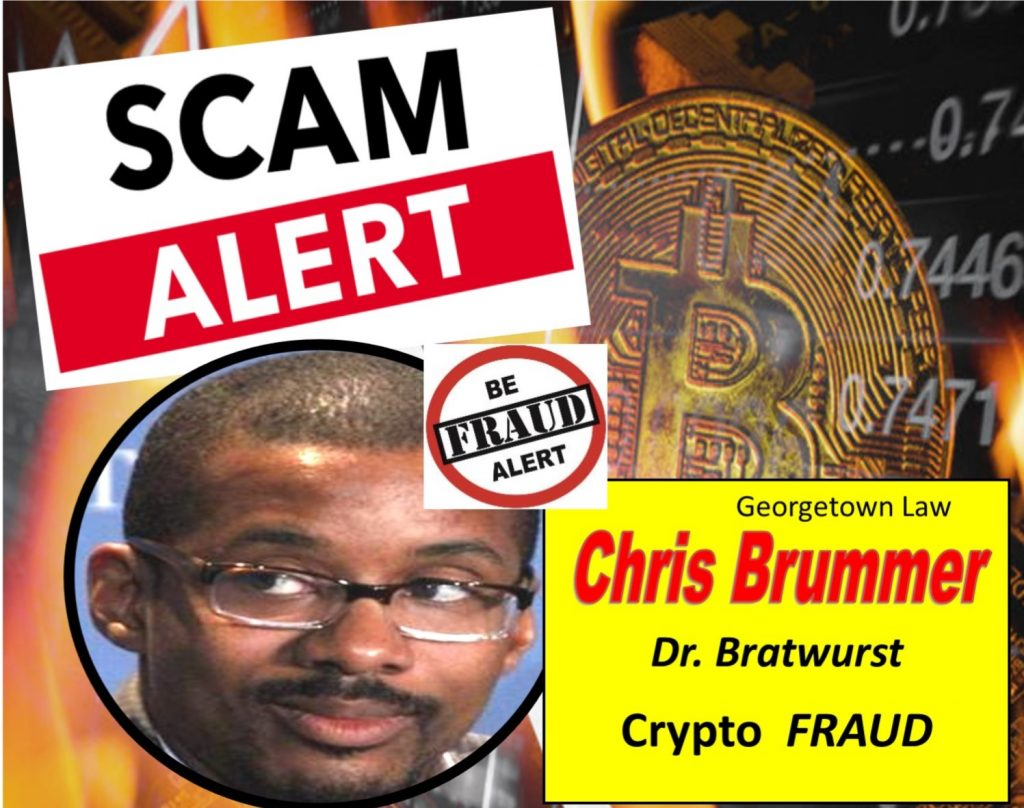 Chris-Brummer-Georgetown-Law-Dr.-Bratwurst-with-Degree-in-Germanic-Studies-Touts-Crypto-Scam