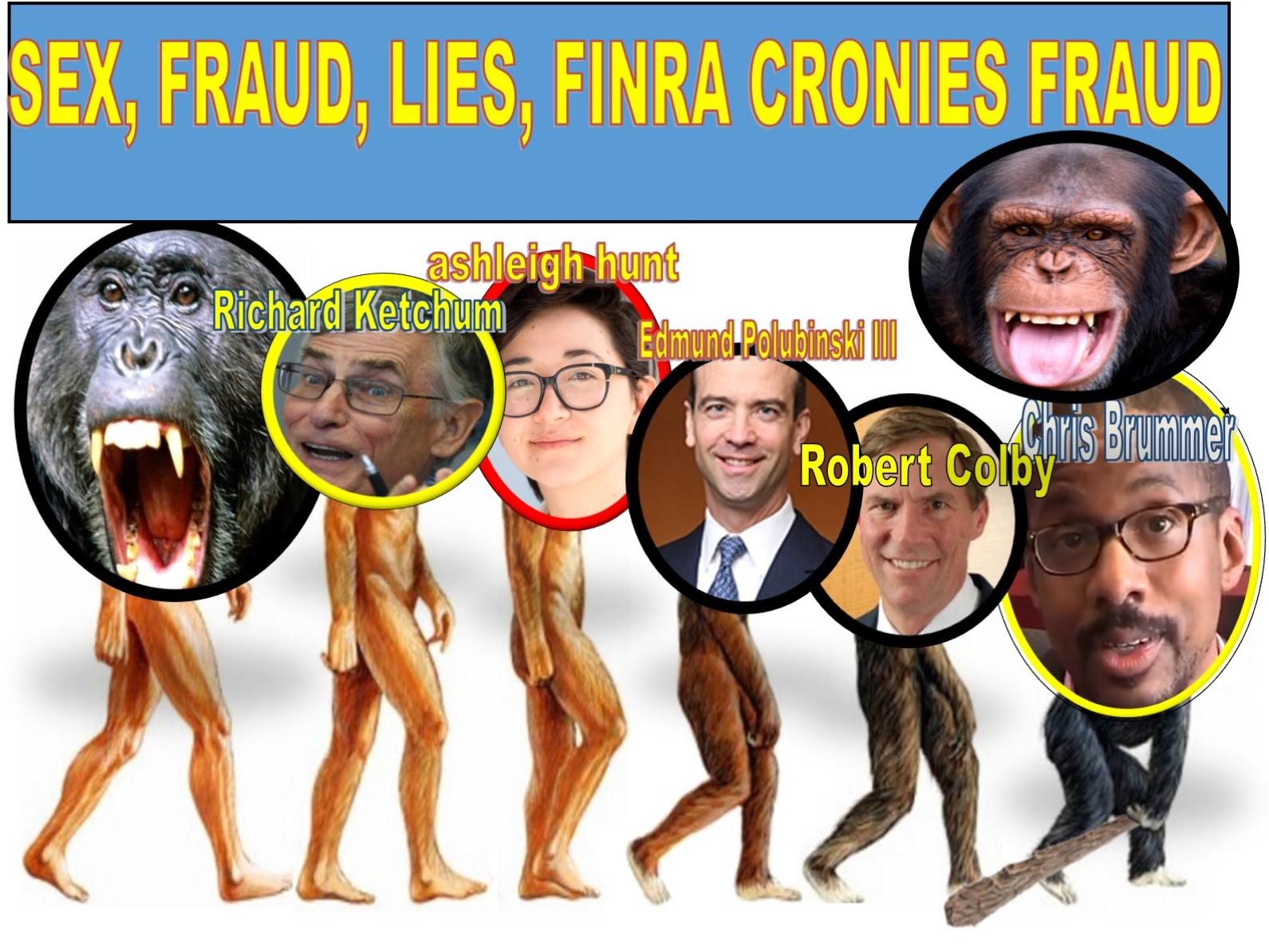 Edmund Polubinski III, Davis Polk, Chris Brummer, FINRA NAC, Robert Colby, Richard Ketchum, Michael Garawski, Alan Lawhead, Nicole Gueron, AshleIgh Hunt, fraud