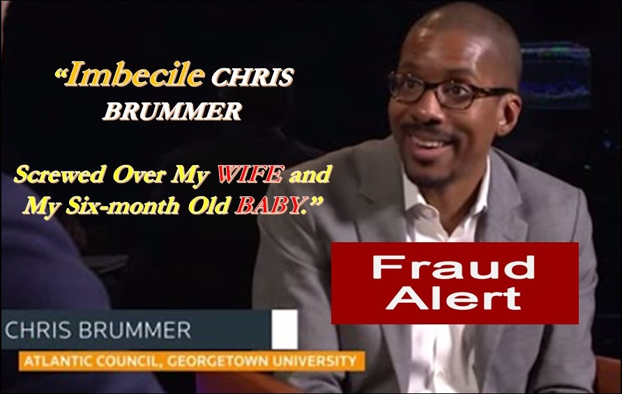 GEORGETOWN LAW SCHOOL PROFESSOR CHRIS BRUMMER, FINRA NAC MEMBER, FRAUD REVEALED