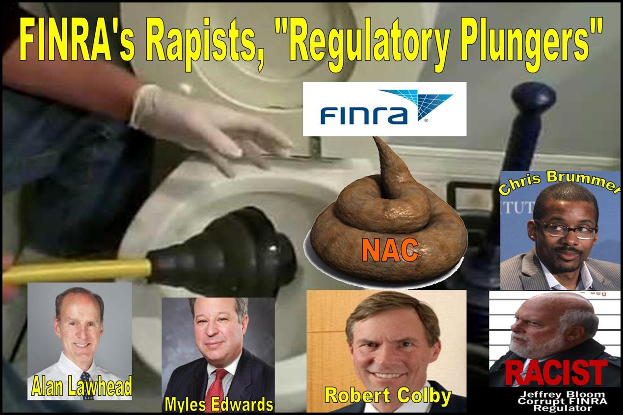 ROBERT COLBY, ALAN LAWHEAD, FINRA, FINRA NAC, CHRIS BRUMMER, JEFFREY BLOOM, DAREN GARCIA, VORYS, NICOLE GUERON, REGULATORY ABUSES