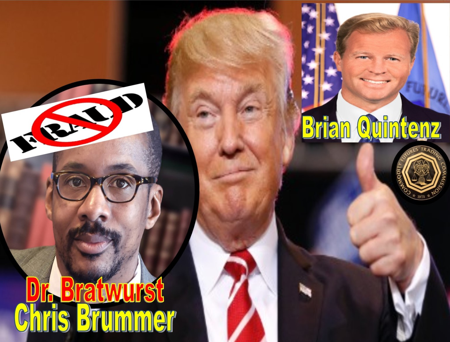 Trump Ditches Fraudulent Georgetown Law Professor Chris Brummer, Backs Brian Quintenz as CFTC Commissioner